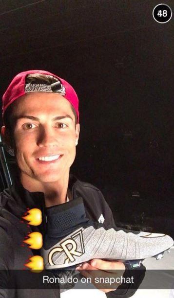 Snapchat Blog - Ronaldo Ex