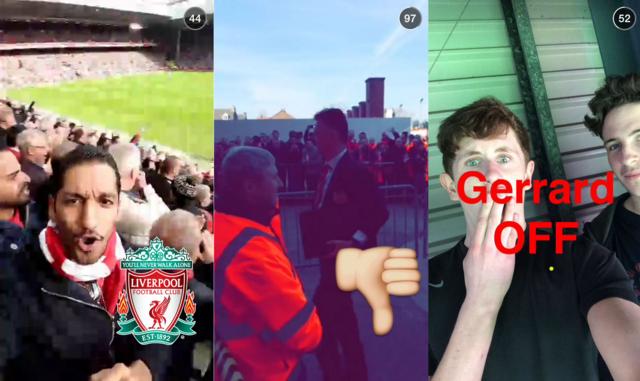 Sport on Snapchat - Story