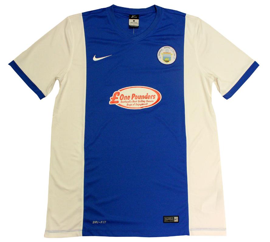 Greenock Morton Home Kit 2016/17