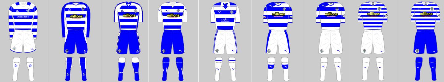 Greenock Morton kits