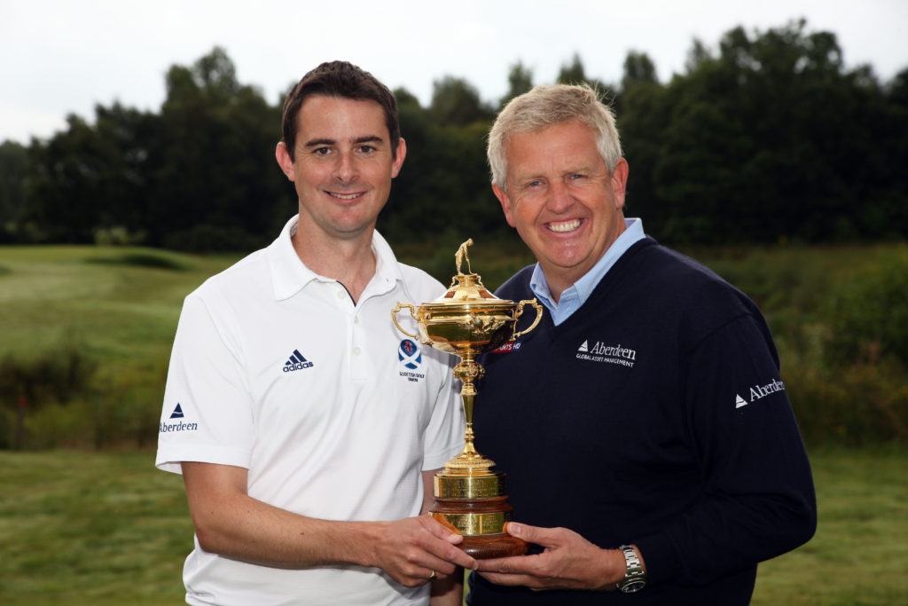 Ed Hodge from Scottish Golf